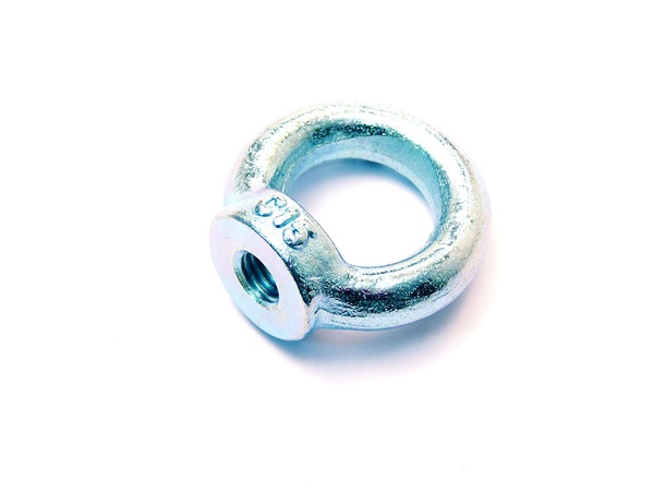 Eye nut zinc plated
