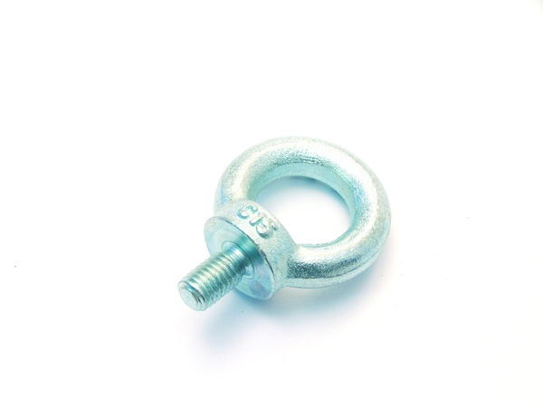 Eye screw zinc plated